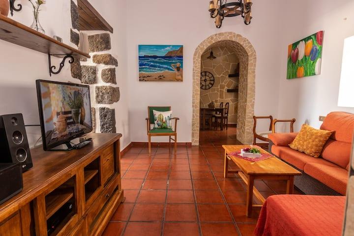 Casa rustica Los Dragos Teguise Lanzarote