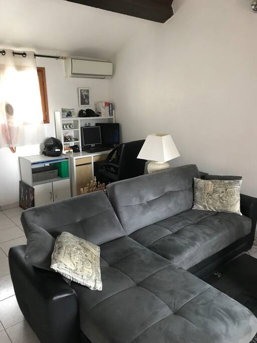 canapé-lit d'angle