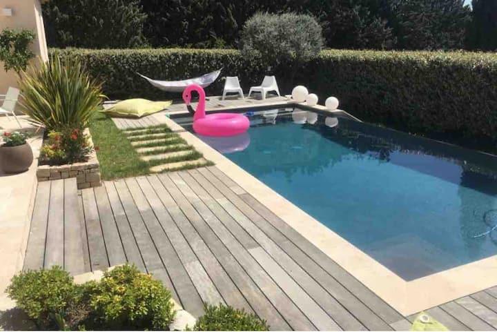 Villa 8 personnes 10 min d'Aix En Provence
