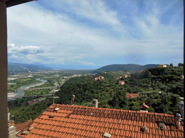 Casa Candì nel borgo di Vezzano Ligure - Vezzano Ligure - Leilighet
