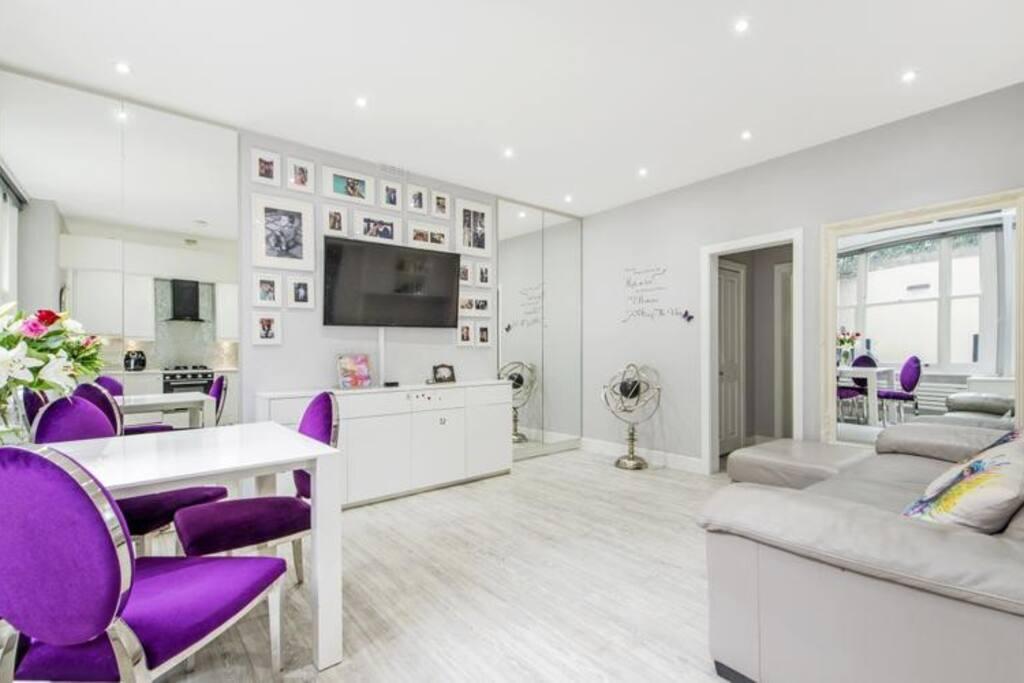 Large luxury living area
