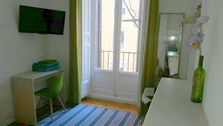 Habitación Verde Privada 2 Personas - Callao