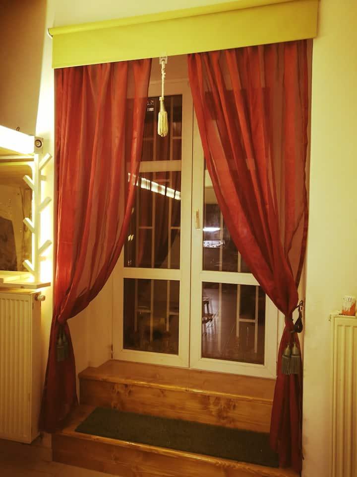 Orelska apartment, total quiet, garden, area tram