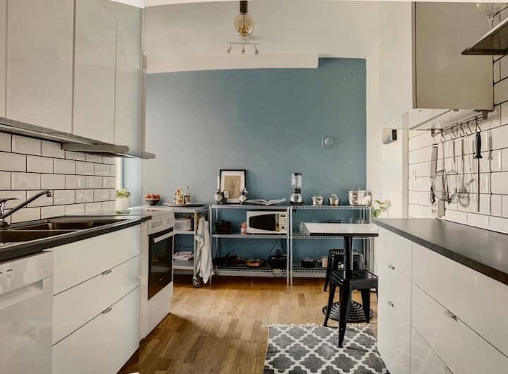 Central spacious apartment