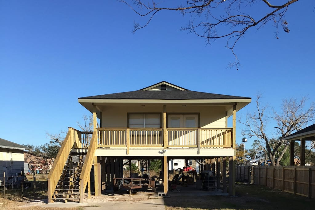 Complete remodel after Harvey.  Available for guests March 1, 2018.
