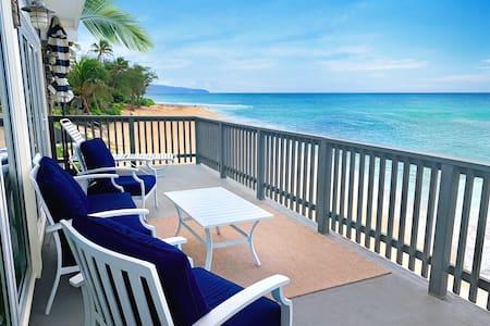 ⛱  Haleiwa/Sunset Beach ☼ Entire OCEANFRONT HOME
