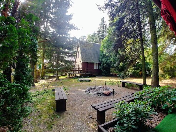Przytulny Mały Domek blisko jeziora
