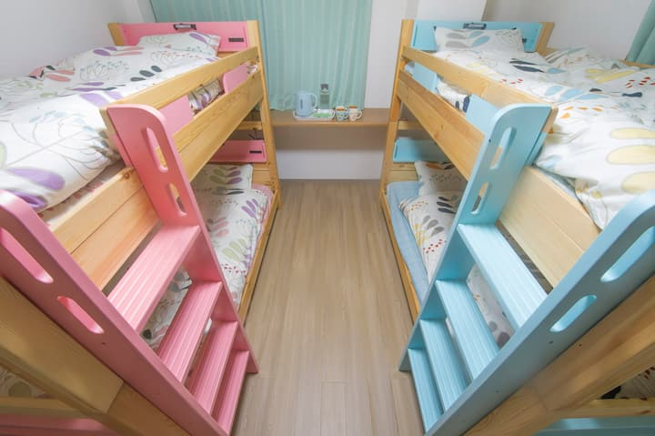 Standard Bunk Bed with Bath 4F-1 ( Floral Maiden)