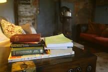 Plenty of fireside reading material:)