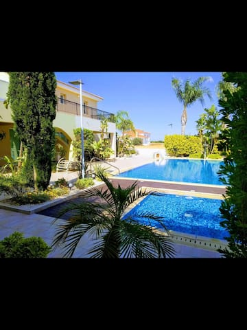 Luxury 2 bed 2 bath apartment in quiet resort