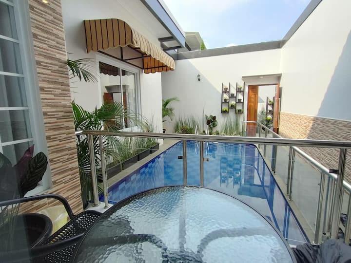 Villa 202C Khusus Family (1bedroom) PRIVATE POOL