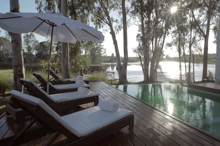 Relax & Naturaleza  a orillas de la Laguna-Uruguay