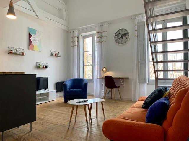 Duplex de 40m2 Hypercentre de Carcassonne