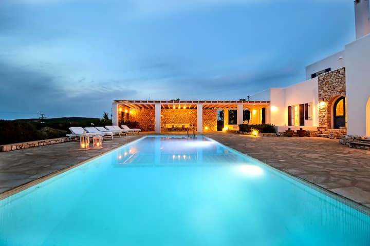 villa Haroula, a hidden paradise