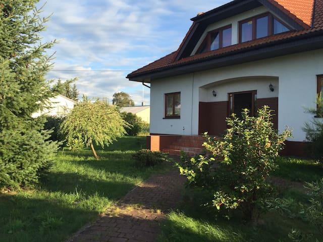 Dom z ogrodem - Szczecin/ Czarna Łąka