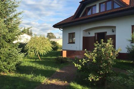 Haus mit Garten - Szczecin/ Czarna Łąka