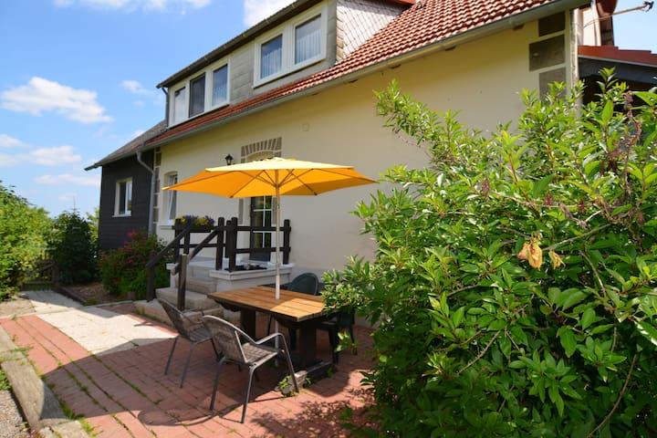 Pet-friendly mansion in the Hochsauerland region with garden and terrace