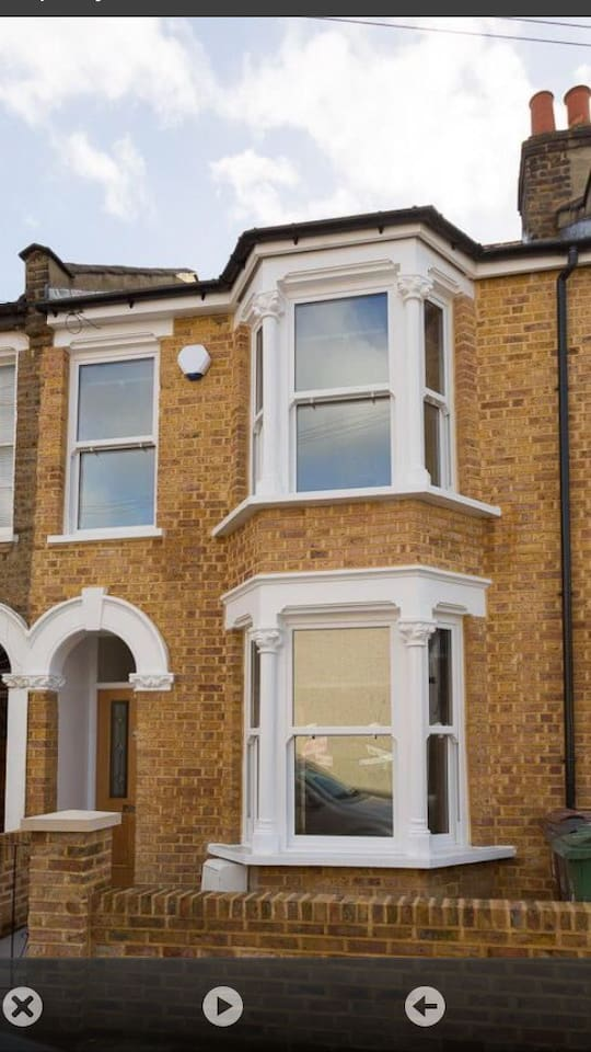 Typical Victorian terraced