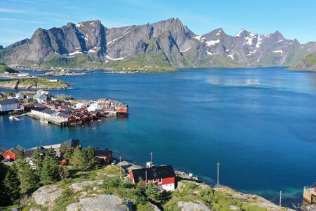 Lofoten panoramic luxury home with Sauna