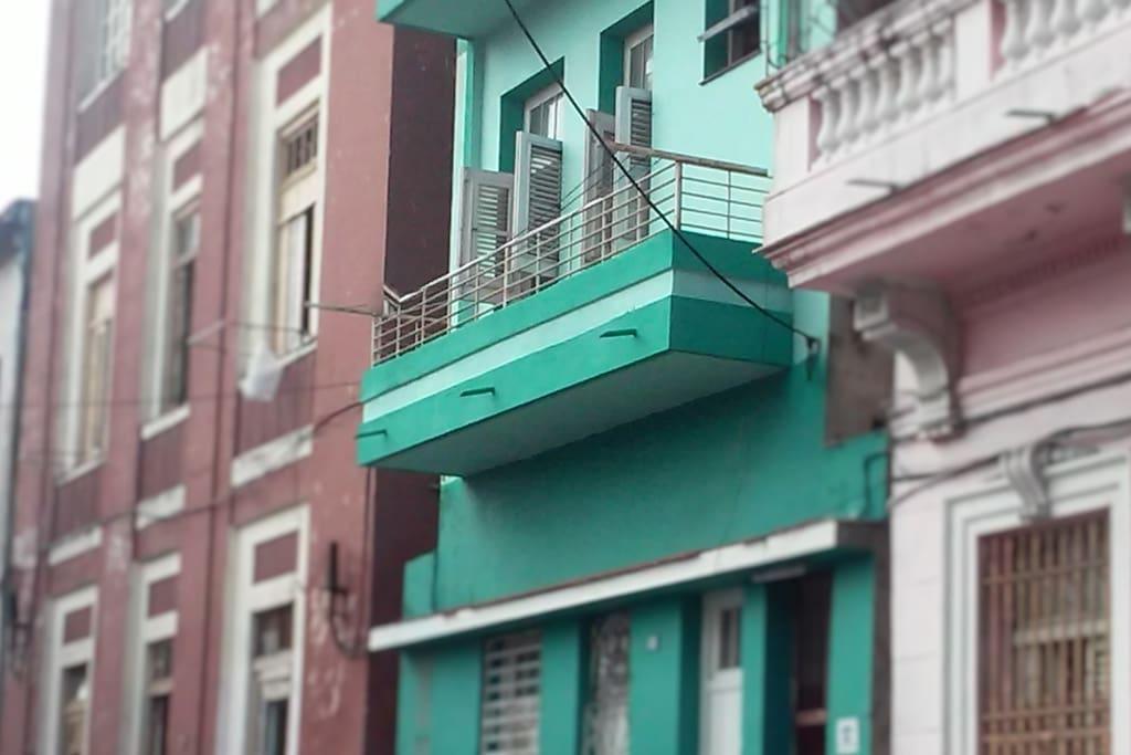 Balcón amplio