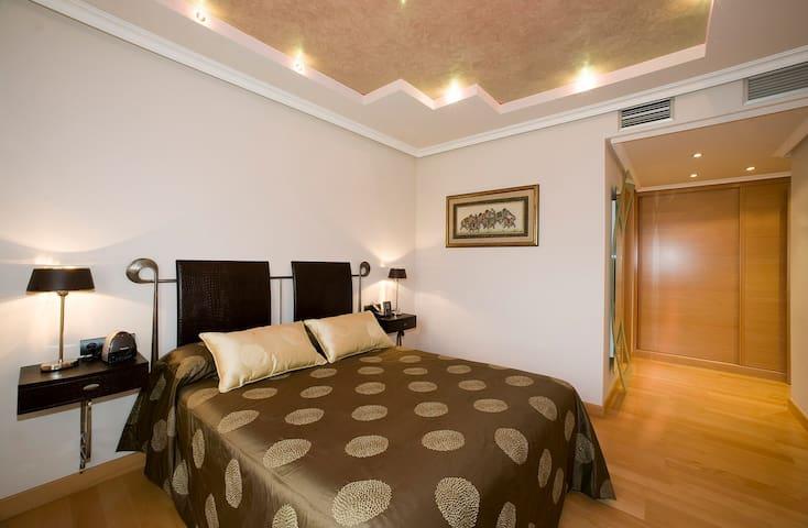 Habitación de lujo en zona tranquila - Zaragoza - Guest suite