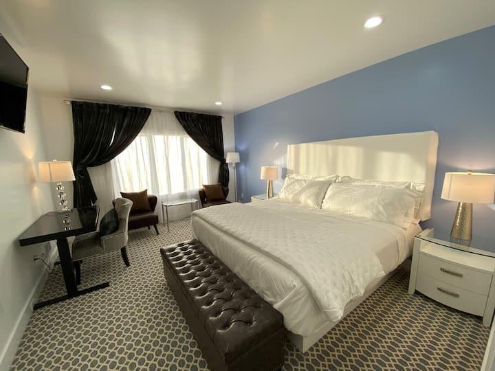 #4 SF Sunset 24th ave&kirkham st Deluxe king room
