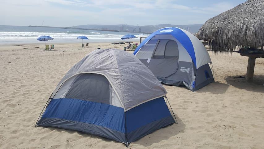 Campings frente a las playa 1, 2 o mas noches