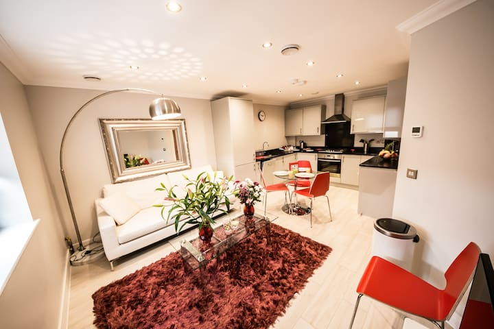 Modern Penthouse in Central Reading by KSA