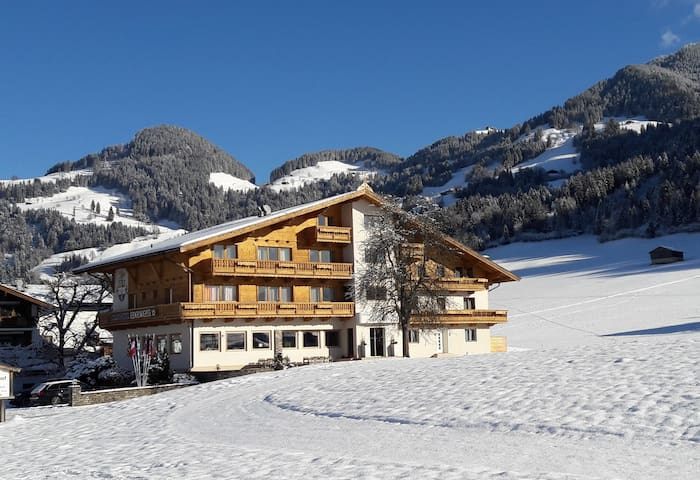 Double room in the SkiWelt ski area
