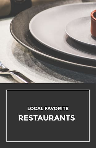 Local FAV Restaurants, Breweries, Drinks and Sweets