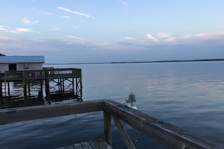 Lakefront home with private dock. - Santee