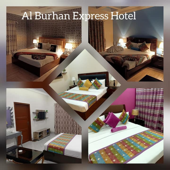 Booked your upcoming stay with Al Burhan Express