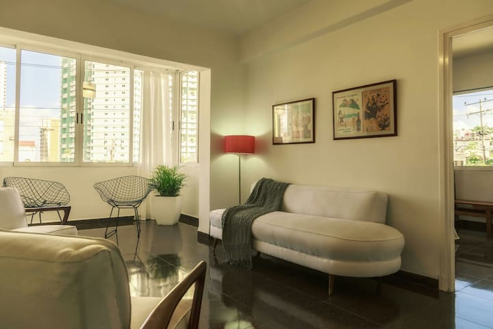 Downtown apartment in Vedado.
