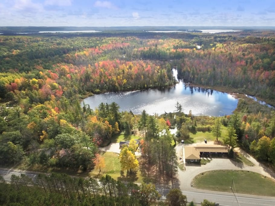 Tuller's lake in the Fall
