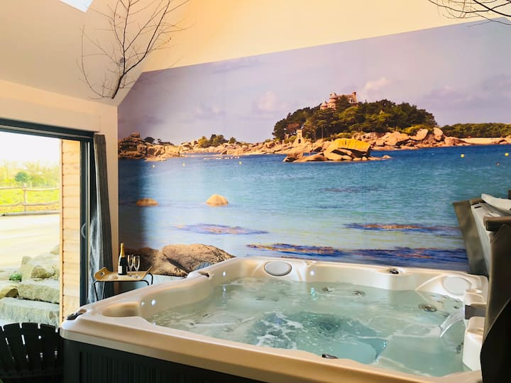 Gîte BARADOZ.B _5 pers_ jacuzzi sauna PRIVATIFS