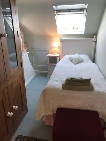 Part of Twin bedroom