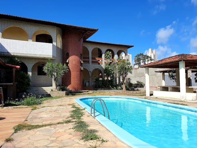 Casa maravilhosa com piscina em Ponta Negra