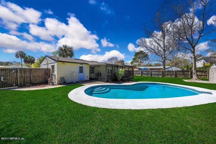 Pool, Pet Friendly Home close to Mayo, TPC & Beach