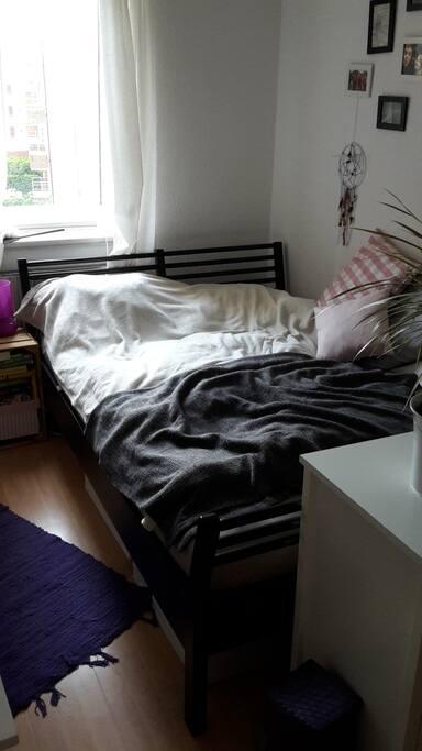 Ein Bett groß genug für zwei