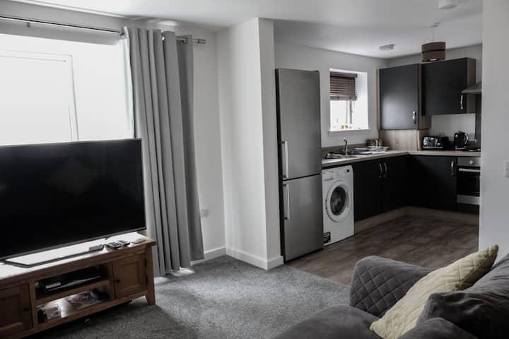 Modern-stylish New Build Apartment