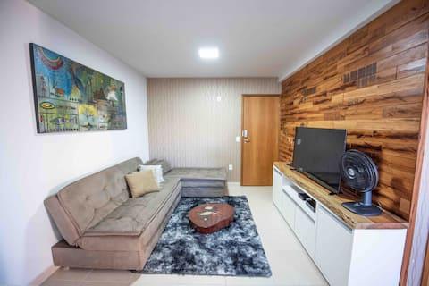 Apartamento de 1Qto - Próx Centro de Convenções
