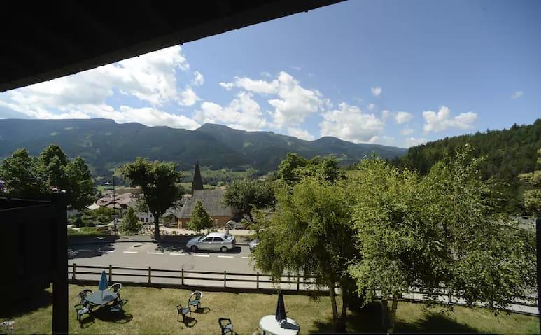 Appartamento 2 posti letto con balcone vista valle