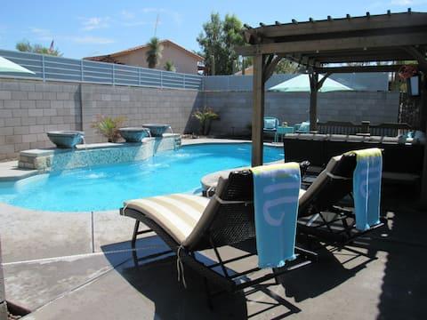 LUXURY Pool Home Close 2 Lake, River, & Casinos