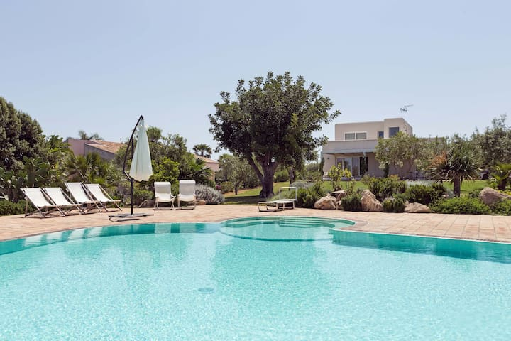 Panoramic Villa seaview and pool - Augusta - Vila