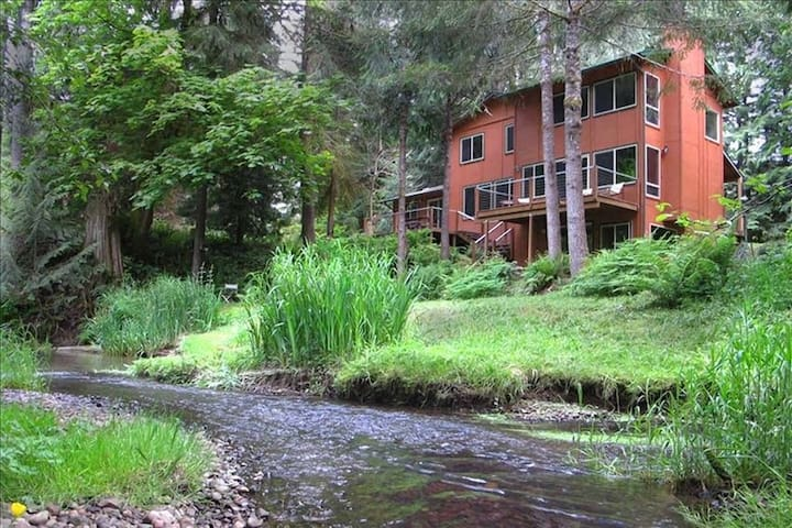 Secluded with Stream, near Oregon Wine Country
