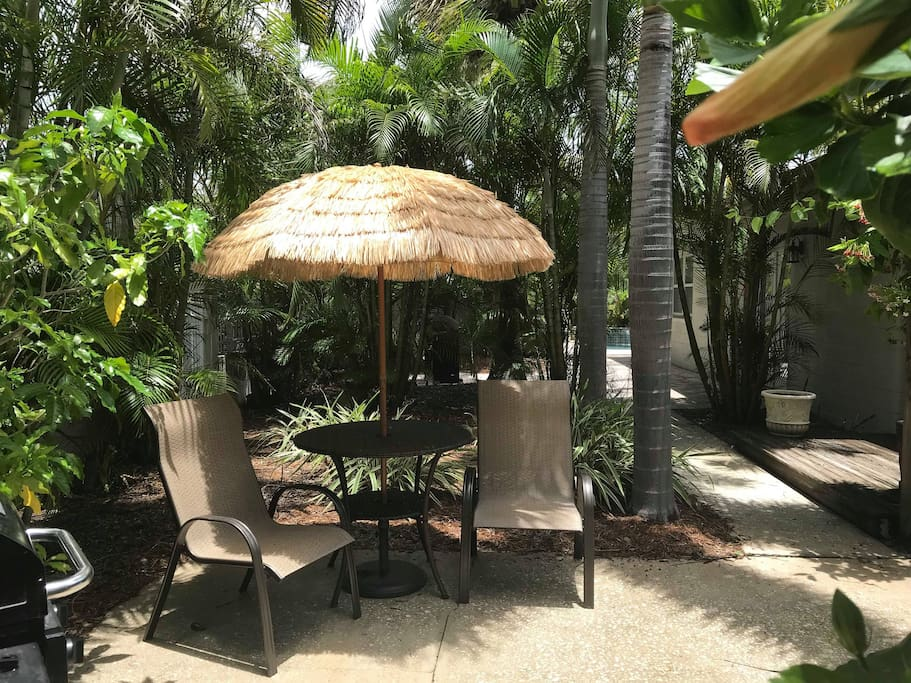 Your private outdoor dining