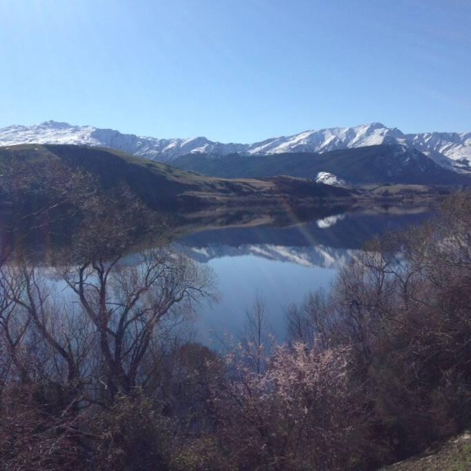 Take a walk around Lake Hayes