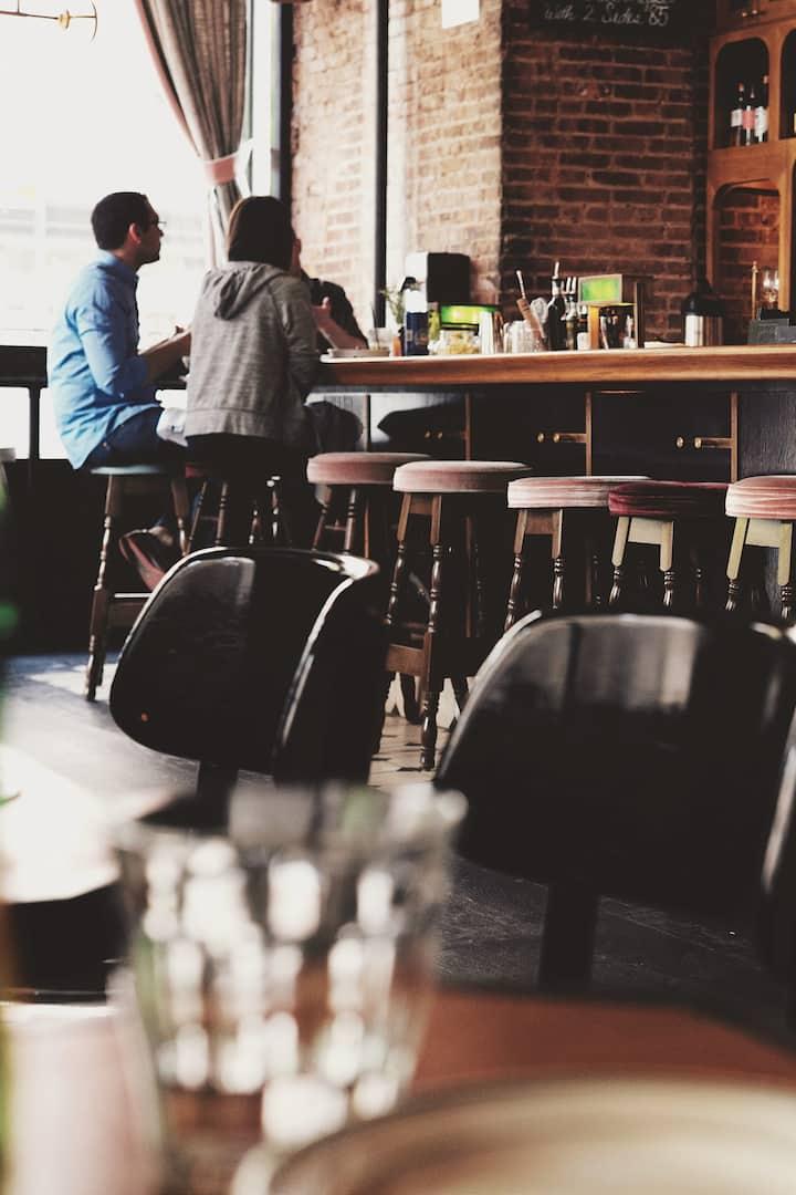 Meet at Little Easy's Studio or Pub