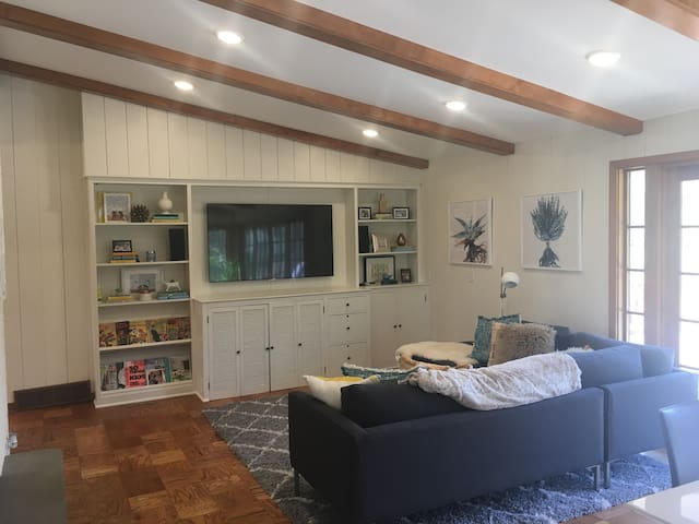 Mid Century Modern home in beautiful neighborhood just 10 minutes from downtown Minneapolis and steps away from the cities largest winter sports park.  Also minutes from the West End - upscale shopping, nightlife and dining center.
