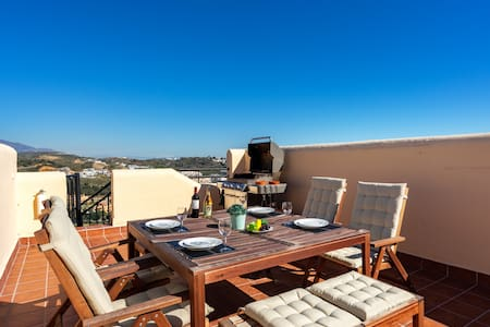 Rooftop dreams in La Cala de Mijas - paddle court